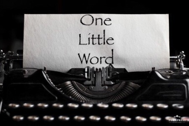 One Little Word Title Reveal